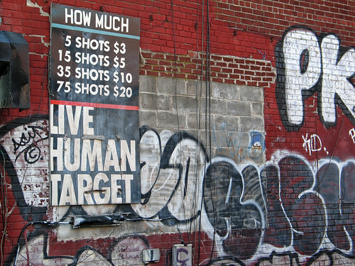 """Live Human Target"" 