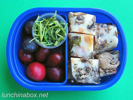 Mushroom pizza bento lunch for preschooler | by Biggie*