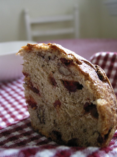 No Knead Bread, pane al cranberry e noci pecan | by comidademama