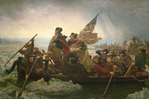 NYC - Metropolitan Museum of Art: Washington Crossing the Delaware | by wallyg