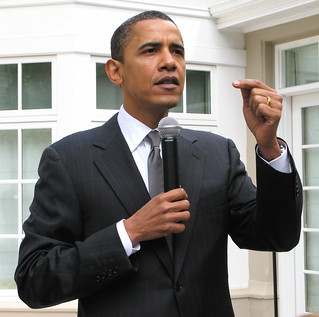 Statuesque Obama | by jurvetson
