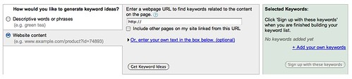 New Google Keyword Tool | by rustybrick