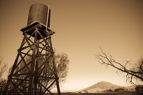 Western water tower | by Sunfrog1