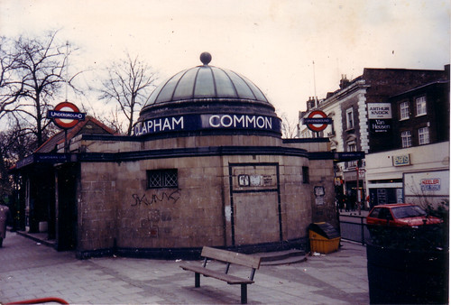 Clapham Common Tube Station 1989