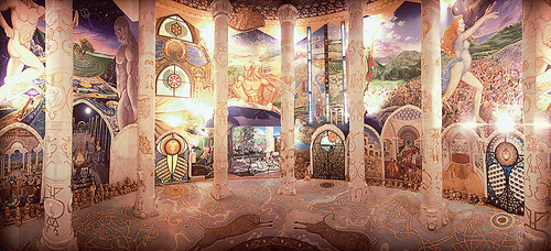 Weird Italy 2058510428_825f047078 World's largest underground temple: The Temple of Humankind of the Federation of Damanhur Magazine What to see in Italy  underground temple sect piemonte piedmont new age federation of damanhur damanhur