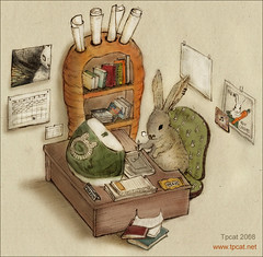 The graphic+web+flash designer rabbit | by tpcat