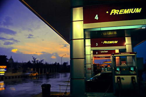 Rain, Gas Station and Dawn | by ^riza^