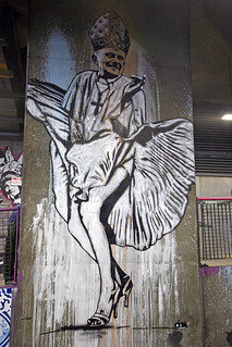 Pope Benedict as Marilyn Monroe by Dolk | by greenwood100