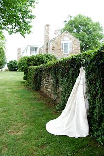 Wedding dress by d clow maryland