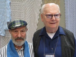 Lew and Gene from Lacy Knitters Guild | by hizknits