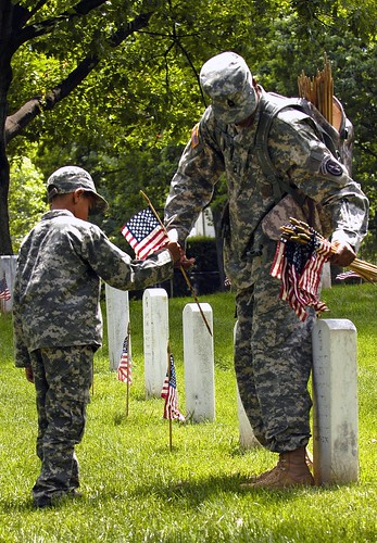 'Flags-In' at Arlington National Cemetery for Memorial Day 2008 | by The U.S. Army