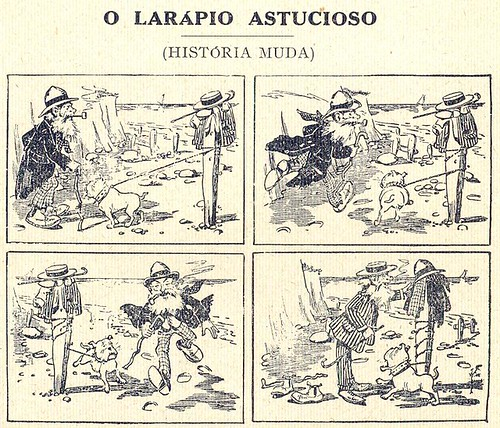Almanaque Bertrand, 1934 - Cunning thief 18