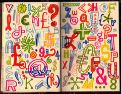 Lettering Sketchbook | by Linzie Hunter
