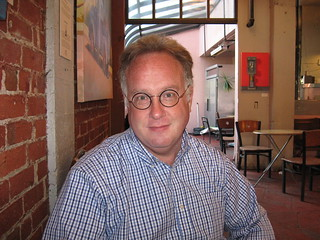 Mike Godwin at the French Hotel in Berkeley | by scriptingnews