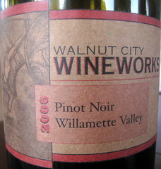 Walnut Creek Wineworks 2006 Pinot Noir front | by 2 Guys Uncorked