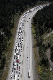 I-90, Labor Day westbound traffic | by WSDOT