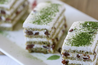 Green Tea and Red Bean Cakes | by Dessert First