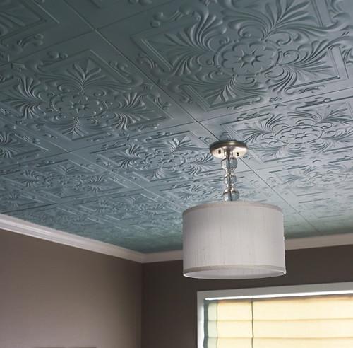 Polystyrene Tiles On Ceiling In Rented Properties