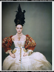 like a painting - by paolo roversi - for vogue italia | by fashion.inspiration