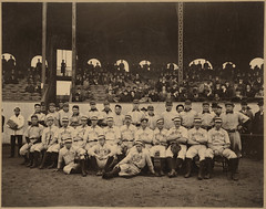 Boston Americans and Pittsburgh Pirates, Huntington Avenue Grounds, 1903 World Series | by Boston Public Library