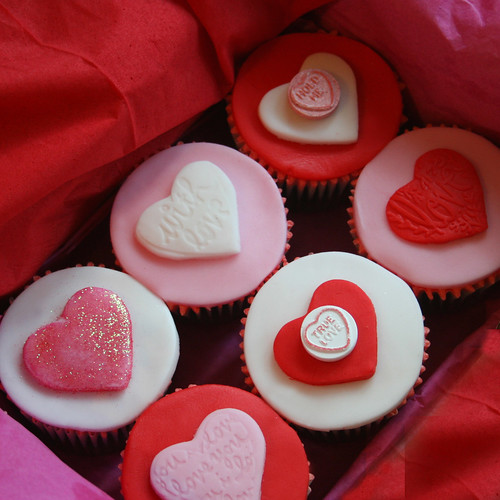 Valentine Cupcakes | by clarescupcakes.co.uk