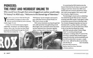 Pioneers: The First and Weirdest Online TV