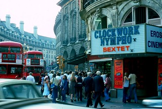 1976 - London - Picadilly Circus . Regent Street | by Affendaddy