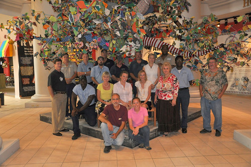 Tree Project gets donated to Earlyworks Childrens Museum | by International Fiber Collaborative, Inc.
