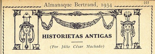 Almanaque Bertrand, 1934 - Ancient Stories, header 31