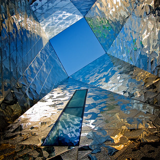 Spain - Barcelona - Forum skylight - sq | by Darrell Godliman