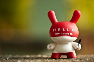 Hello My Name Is....  221/365 | by bump
