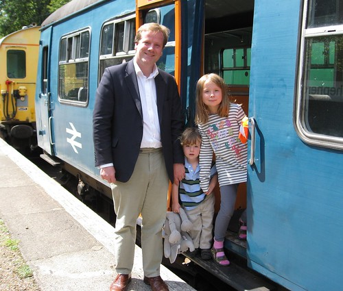 A family day out on the East Kent railway! | by charlieelphicke