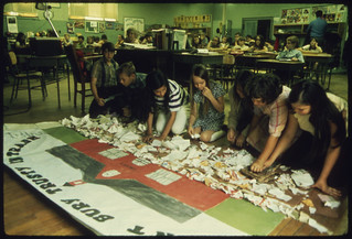 School Children Making Signs in Ecology Awareness Class, 05/1972 | by The U.S. National Archives