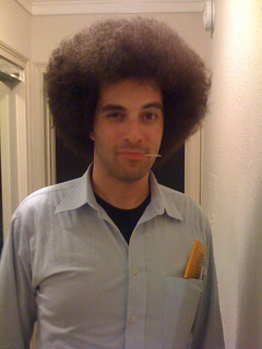 Happyjoel with Giant Jewfro and Toothpick | by happyjoelmoss