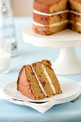 Muscovado Date Cake With Maple Sugar Buttercream | by tartelette
