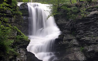Fulmer falls waterfall childs recreation area pocono for Trodel mobel