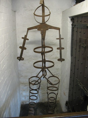 Gibbet, Guildhall, Leicester, England
