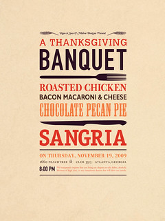 A Thanksgiving Banquet Poster | by vigeo-le-suss