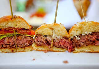 "American Kobe Beef ""Sliders"", Three Ways 