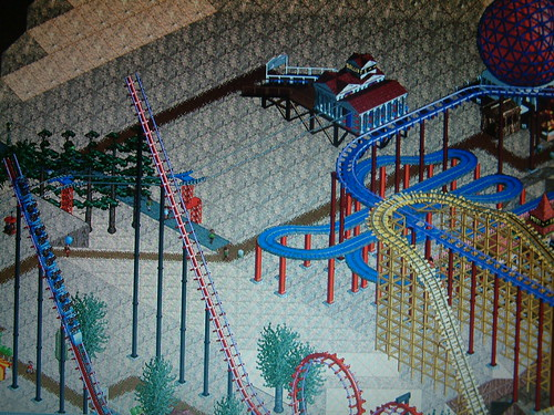 Rollercoaster Tycoon  Repeat Same Build