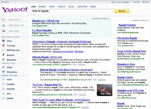 Yahoo New Homepage 2009 - Search | by rustybrick