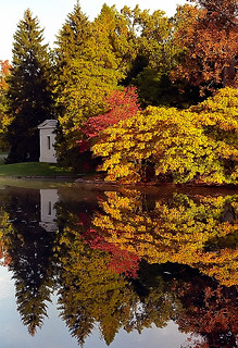 "Cincinnati - Spring Grove Cemetery & Arboretum ""Autumn Reflection"" 