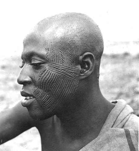 Facial Scarification in Africa in the early 1940s | by gbaku