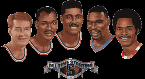 Cavs 30th Anniversary All-Time Starting 5 | by Cavs History
