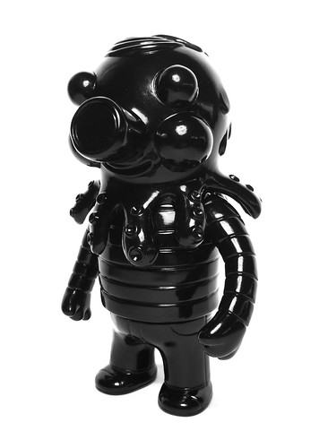 unpainted black globby, front | by tr3bl3kick3r
