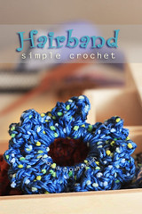 Simple Crochet Hairband | by :Salihan