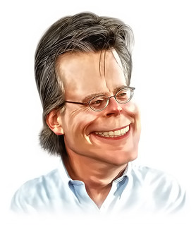 Stephen King Caricature | by AZRainman