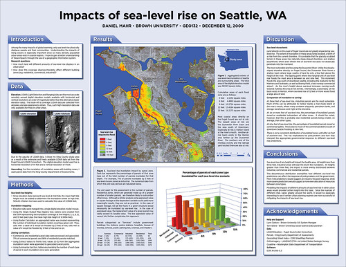 Impacts of sea level rise on Seattle, WA | by dmahr