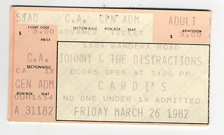 Johnny & The Distractions March 26, 1982 | by Howdy, I'm H. Michael Karshis