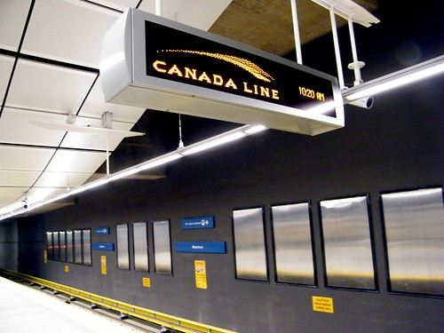 how to take skytrain from waterfront to lougheed